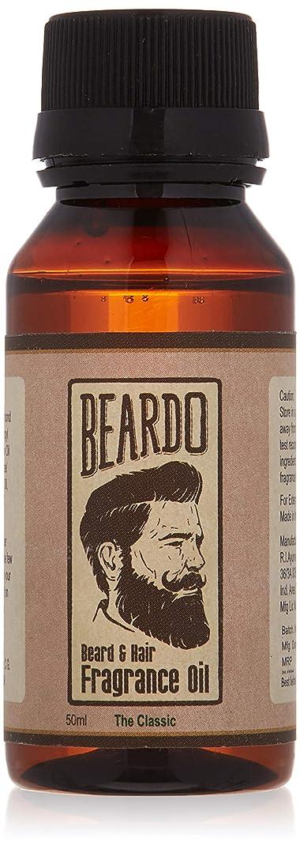 雑種アルコール苗Beardo Beard and Hair Fragrance Oil (The Classic) 50ml With Natural Ingredients - Nutmeg, Vanilla and Lemon oil