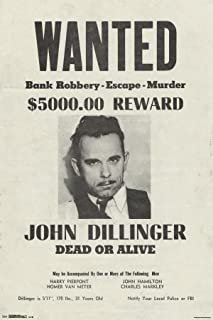 Best dillinger wanted poster Reviews
