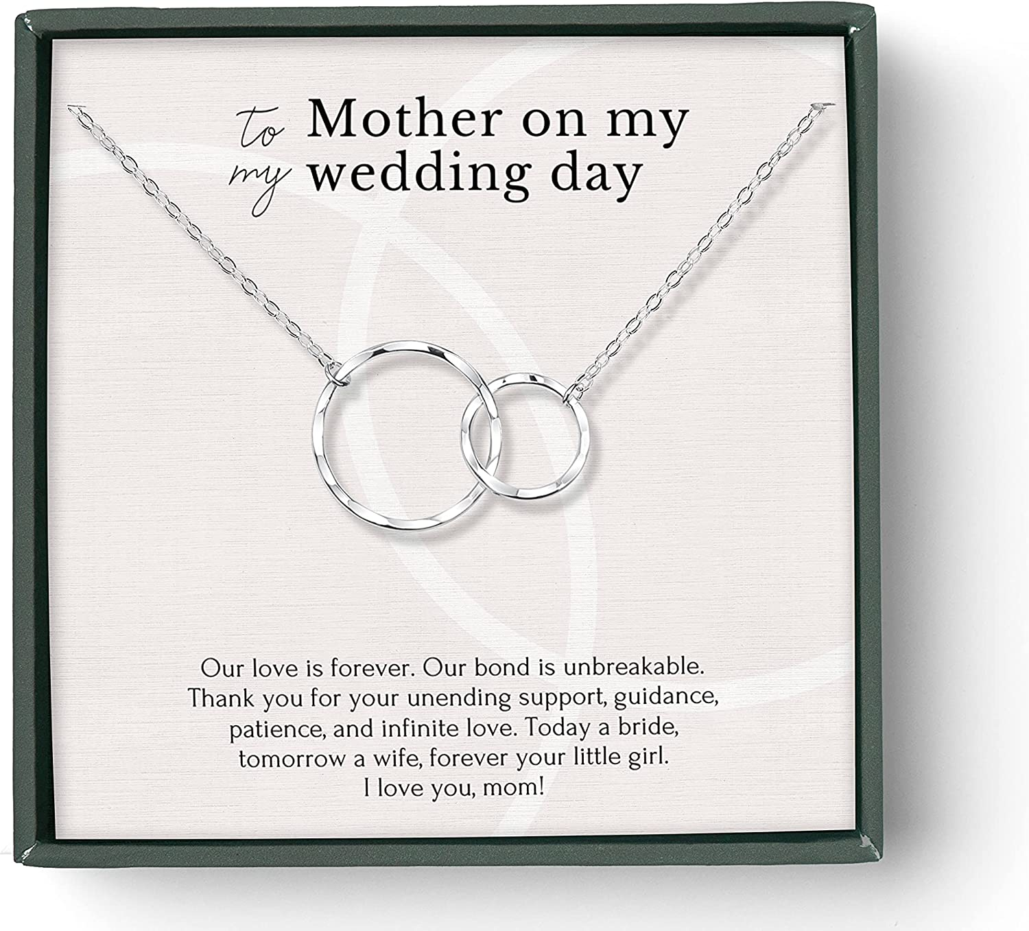 Necklace Gift for mom Regular store on wedding day the Free Shipping New b from mother of bride