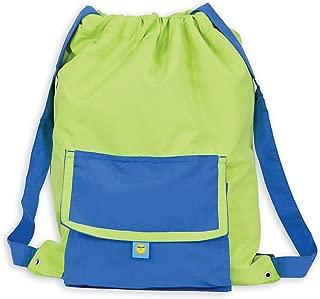 Sun Smarties Lightweight Water Resistant Drawstring Swim Wet Dance Sport Gym Bag