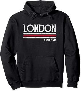 Vintage London England Hoodie British Love Gift Souvenir