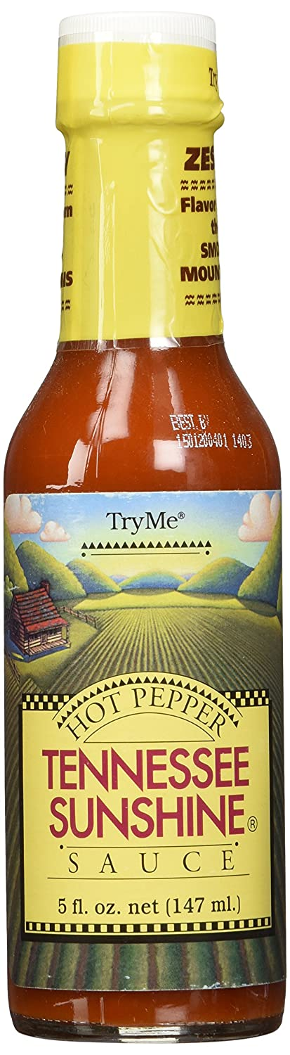 TryMe Tennessee Sunshine Fees free Hot excellence Pepper Sauce 5 Pack 6 of - oz.