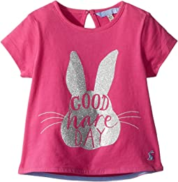 Joules Kids - Good Hare Day Graphic T-Shirt (Toddler/Little Kids/Big Kids)