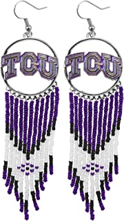 tcu horned frog earrings