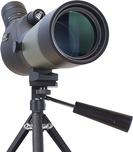 Longue-Vue TecTecTec MPRO1 60x60 Longue Vue au grossissement extrême - avec trépied et Sac de Transport - Zoom Optique