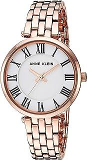 Anne Klein Women's AK/3322 Roman Numeral Metal Bracelet Watch