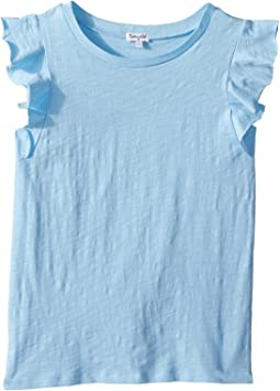 Splendid Littles Ruffle Sleeve Top (Big Kids)