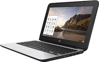 HP ChromeBook 11 G4 EE: 11.6-inch (1366x768) | Intel Celeron N2840 2.16GHz | 16GB eMMC SSD | 4GB RAM | Chrome OS - Black (...