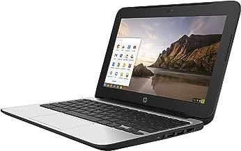 HP ChromeBook 11 G4 EE: 11.6-inch (1366x768) | Intel Celeron N2840 2.16GHz | 16GB eMMC SSD | 4GB RAM | Chrome OS - Black (Renewed)