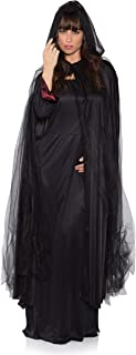Adult Tattered Ghost Cape (Black)-