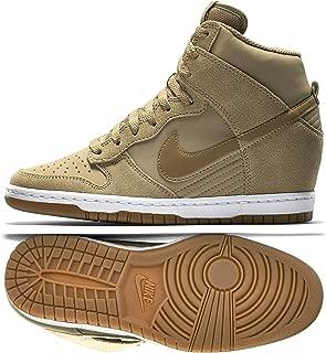 WMNS Dunk Sky Hi Essential 644877-200 Desert Camo Hidden Wedge Women Shoes (10.5)