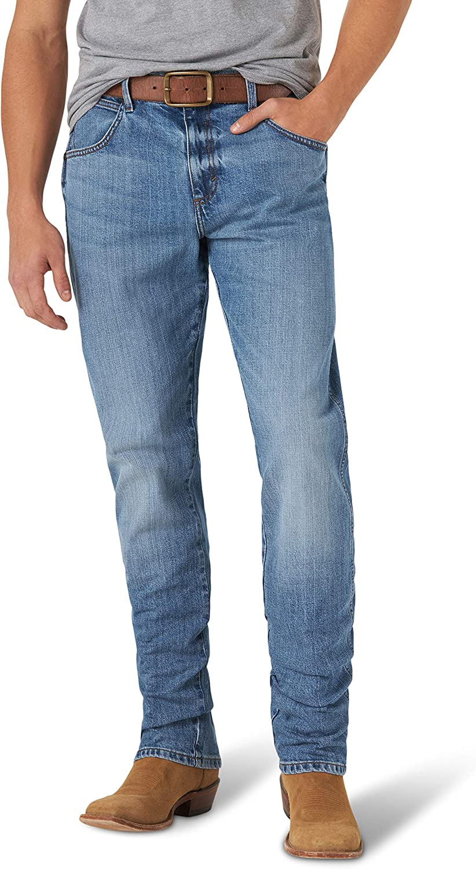 Wrangler Men's Retro Slim Straight Max 73% New products, world's highest quality popular! OFF Jean Leg