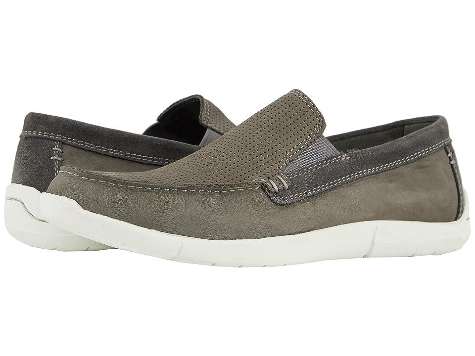 Dockers Alcove Moc Toe Loafer (Grey Nubuck) Men