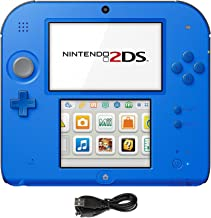 Nintendo 2DS 2 Items Bundle:Nintendo 2DS-Electric Blue 2 w/Mario Kart 7 Console and USB Sync Charge USB Cable [video game]