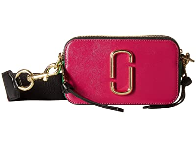 Marc Jacobs Snapshot (Magenta Multi) Handbags