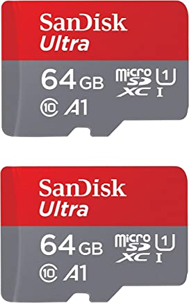 2cae69b8c49 SanDisk Ultra Plus 64GB microSDXC UHS-I Card with SD Adapter