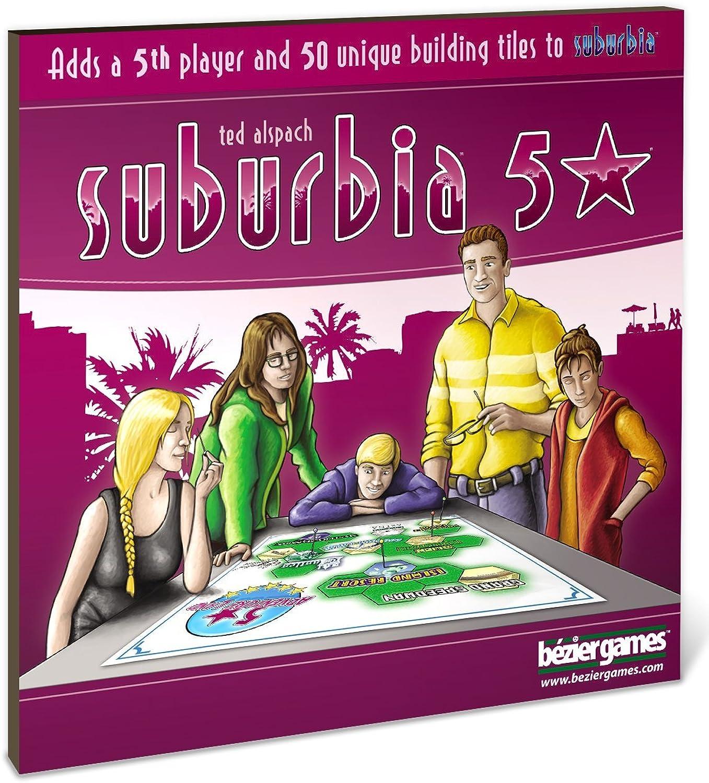 Bezier Games BEZ00014 - Suburbia 5 Stars Expansion B00ZAJTNKO Verrückter Preis  | Rabatt