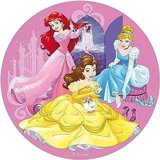 comprar comparacion Dekora - Decoracion Tartas de Cumpleaños Infantiles en Disco de Oblea Disney Princesas - 20 cm de Diámetro