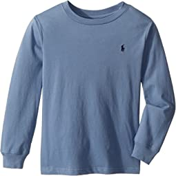 Cotton Long Sleeve T-Shirt (Little Kids/Big Kids)