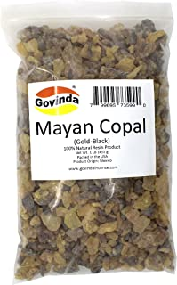 Govinda - Mayan Copal (Gold-Black) Incense Resin 1 lb