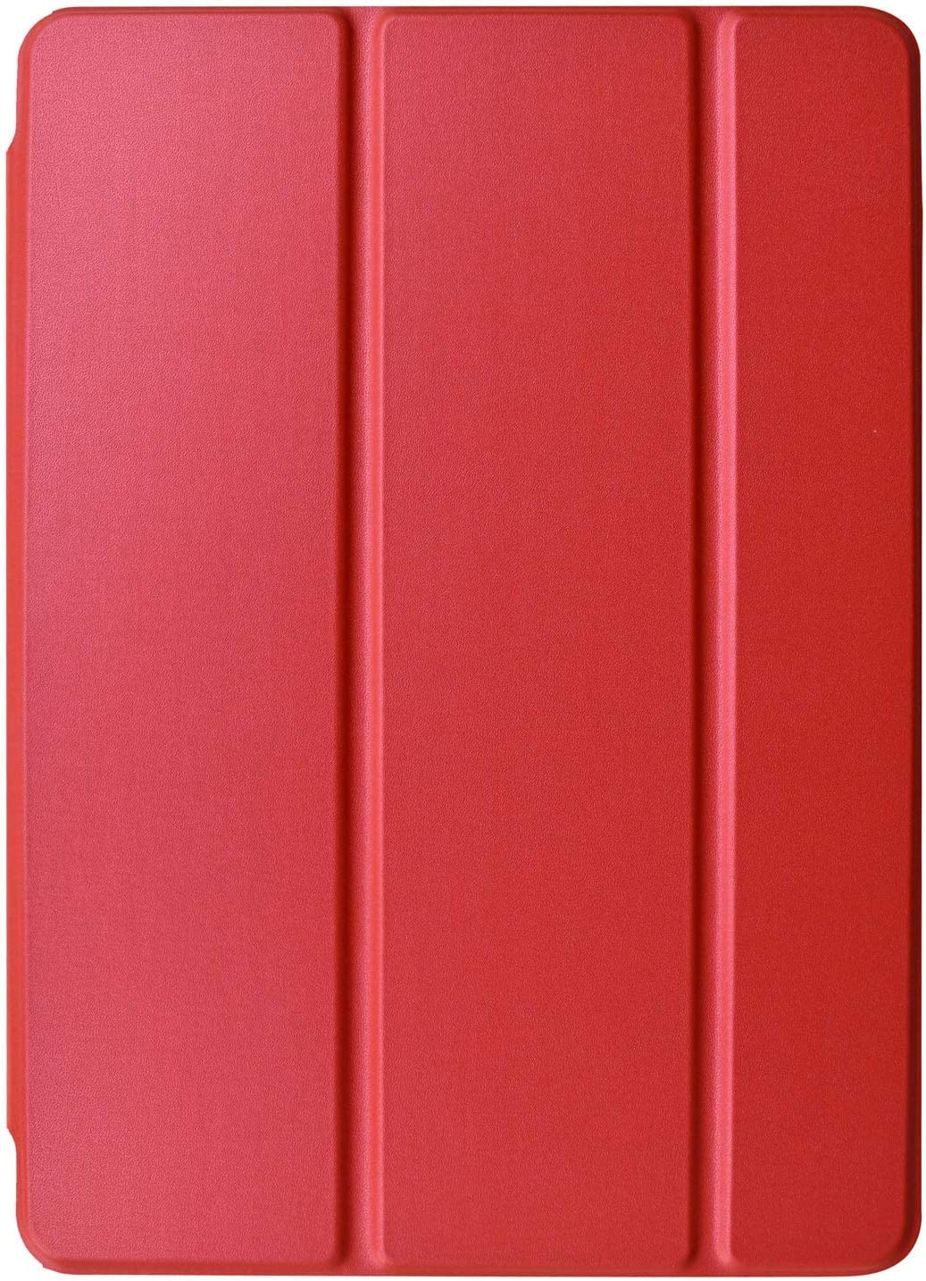 DuraSafe Cases for iPad 7.9 Inch Mini 4th [ Mini 2015 4 Gen ] MK6K2LL/A MK6J2LL/A MK6L2LL/A MK9J2LL/A MK9H2LL/A MK9G2LL/A Ultra Slim Smart Auto Sleep / Wake PC Cover - Red