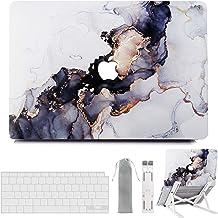 MacBook Air 13 Inch Case 2020 2019 2018 Release M1 A2337 A2179 A1932, G JGOO MacBook Air 2020 Case with Touch ID, Hard She...