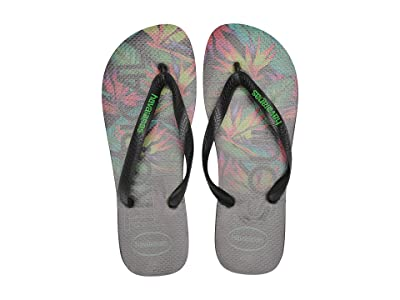 Havaianas Top Tropical Flip-Flops (Black/Black) Men