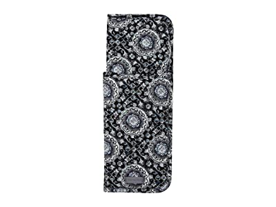 Vera Bradley Iconic Curling Flat Iron Cover (Charcoal Medallion) Wallet