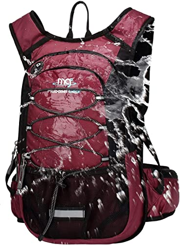 Mubasel Gear Insulated Hydration Backpack Pack with 2L BPA Free Bladder - for Running, Hiking, Cycling, Camping