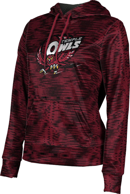 ProSphere Temple University Girls' Pullover Hoodie, School Spirit Sweatshirt (Velocity)