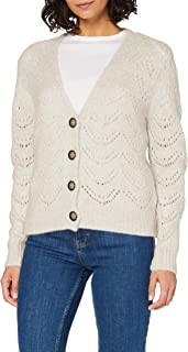 PIECES Pcbibi LS Knit Cardigan Noos Giacca a Vento Donna