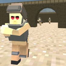 Pixel DeathMatch PVP Sniper Game