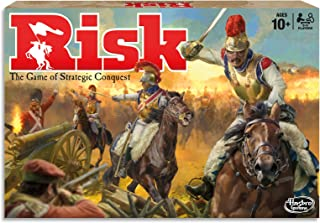 Risk - Game of Strategic Conquest - 2 to 5 Players - Board Games - Ages 10+