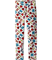 Moschino Kids - All Over Logo Heart Print Leggings (Little Kids/Big Kids)