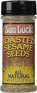 Sun Luck Toasted Sesame Seeds, 3.25 Ounce