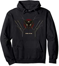 Marvel Iron Man Arc Reactor Suit Poster Pullover Hoodie