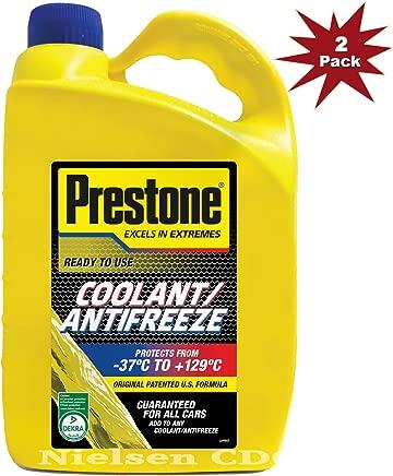 Prestone Ready Mix Antifreeze Coolant-2x4L 8L