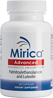 Mirica® Advanced - Enhanced Absorption Formula - Pea (Palmitoylethanolamide) and Luteolin - Immune & Nervous System Suppor...