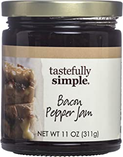 Tastefully Simple Bacon Pepper Jam - 11 oz