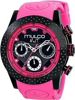 MULCO Unisex MW5-1962-058 Analog Display Swiss Quartz Pink Watch