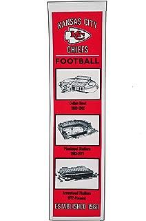 Winning Streak NFL Kansas City Chiefs Stadium Evolution Banner