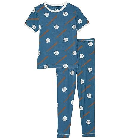 Kickee Pants Kids Short Sleeve Pajama Set (Big Kids)