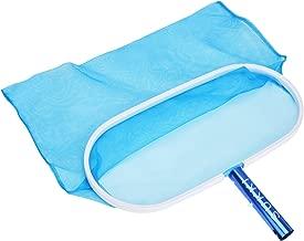 SUKKI Heavy Duty Pool Net Deep Bag Pool Skimmer Leaf Cleaning Pool Rake Fine Mesh Net