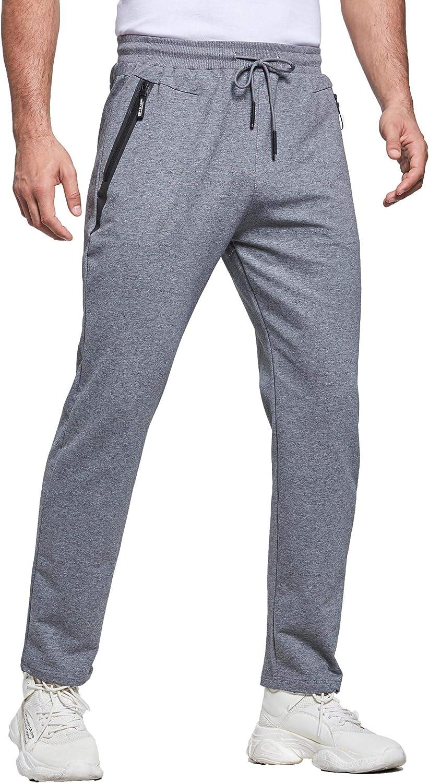 Boston Finally resale start Mall Tansozer Sweatpants for Men Pockets Zipper Joggers with