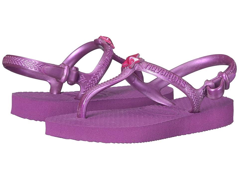 Havaianas Kids Freedom Sandals (Toddler/Little Kid/Big Kid) (Royal Purple) Girls Shoes
