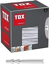 TOX Multifunctionele pluggen met omslagbare kraag Tetrafix XL 6 x 65 mm, verlengde schacht voor frame - toepassingen, 50 s...
