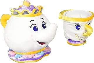 Disney Mrs. Potts 9 and Chip 5 Lg. Plush Set Beauty and the Beast