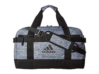 adidas Amplifier II Duffel (Jersey Onix/Black/Gold Metallic) Bags