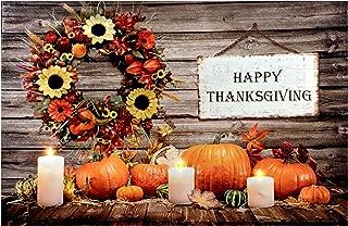 Oak Street Happy Thanksgiving Wreath LED Art 24