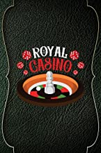 Royal Casino: Casino Notebook Journal Composition Blank Lined Diary Notepad 120 Pages Paperback Green